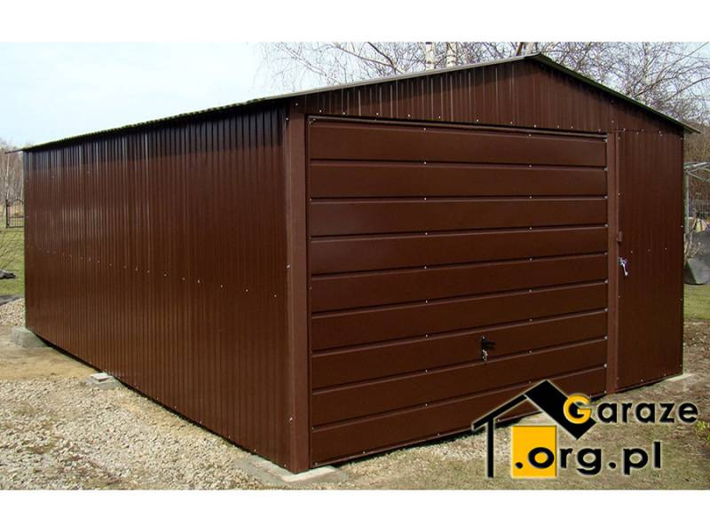 Garaż dwuspadowy