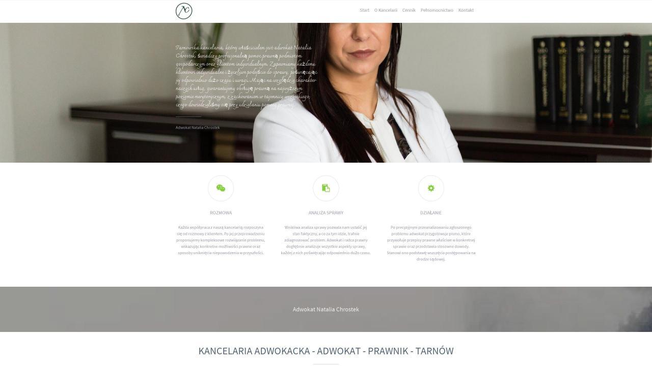 Kancelaria Adwokacka Adwokat Natalia Chrostek